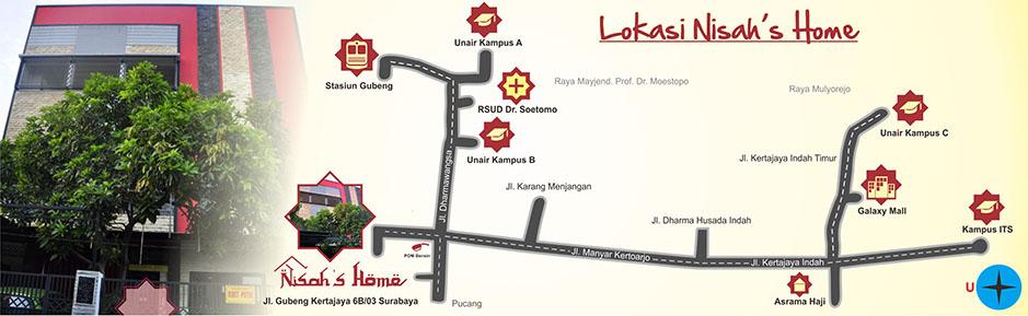 peta lokasi nisa R