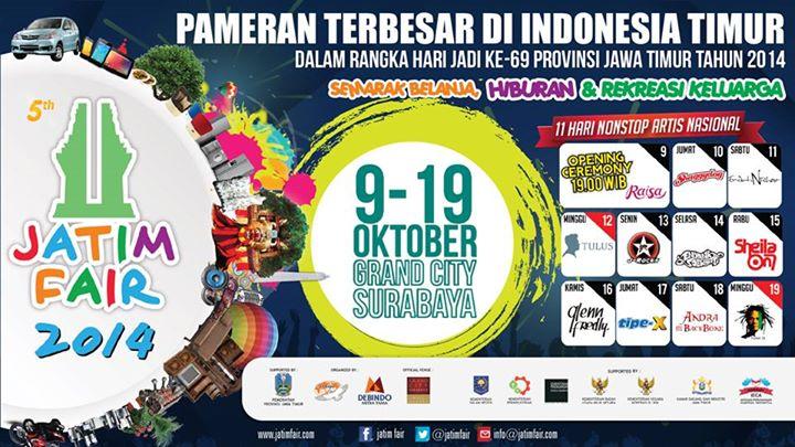 Agenda Acara Jatim Fair 2014