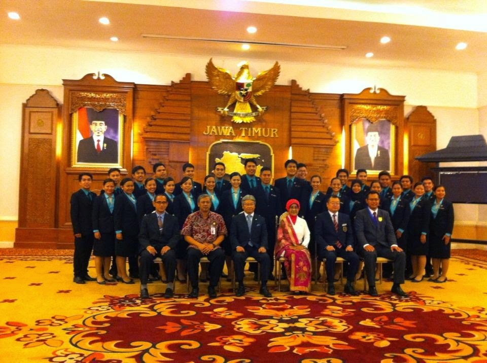 Photo Session with Governor of East Java Indonesia