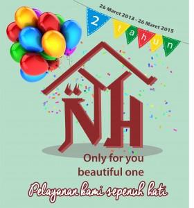 Happy Milad Nisah's Home Ke-2 | Pelayanan Kami Sepenuh Hati