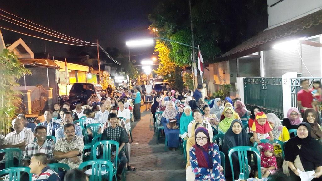 Malam 17 Agustusan di Kampung Kertajaya