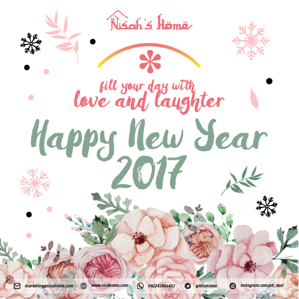 Nisah's Home - E-Card - New Year 2017