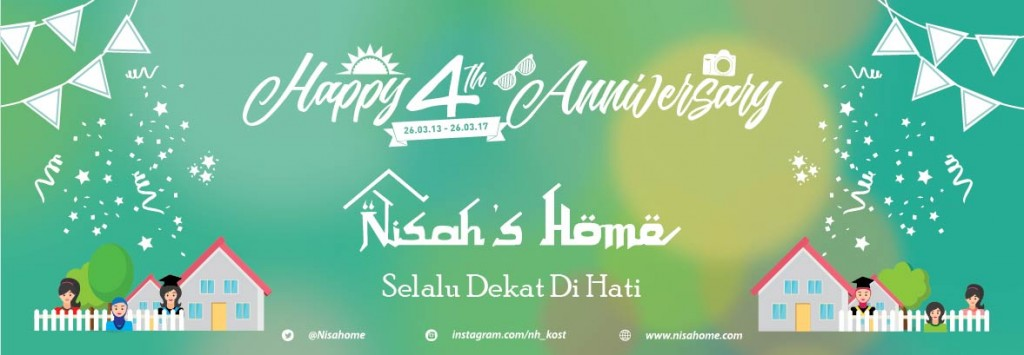 Happy 4th Anniversary Nisah's Home