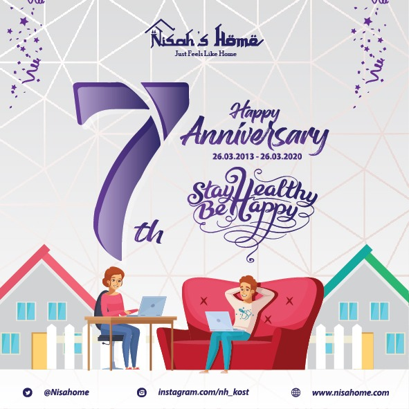 7 th Nisah's Home Anniversary